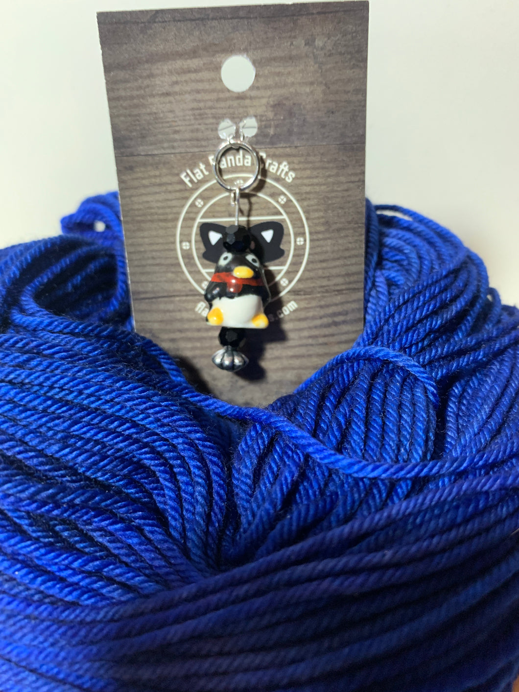 Penguin Stitch Marker