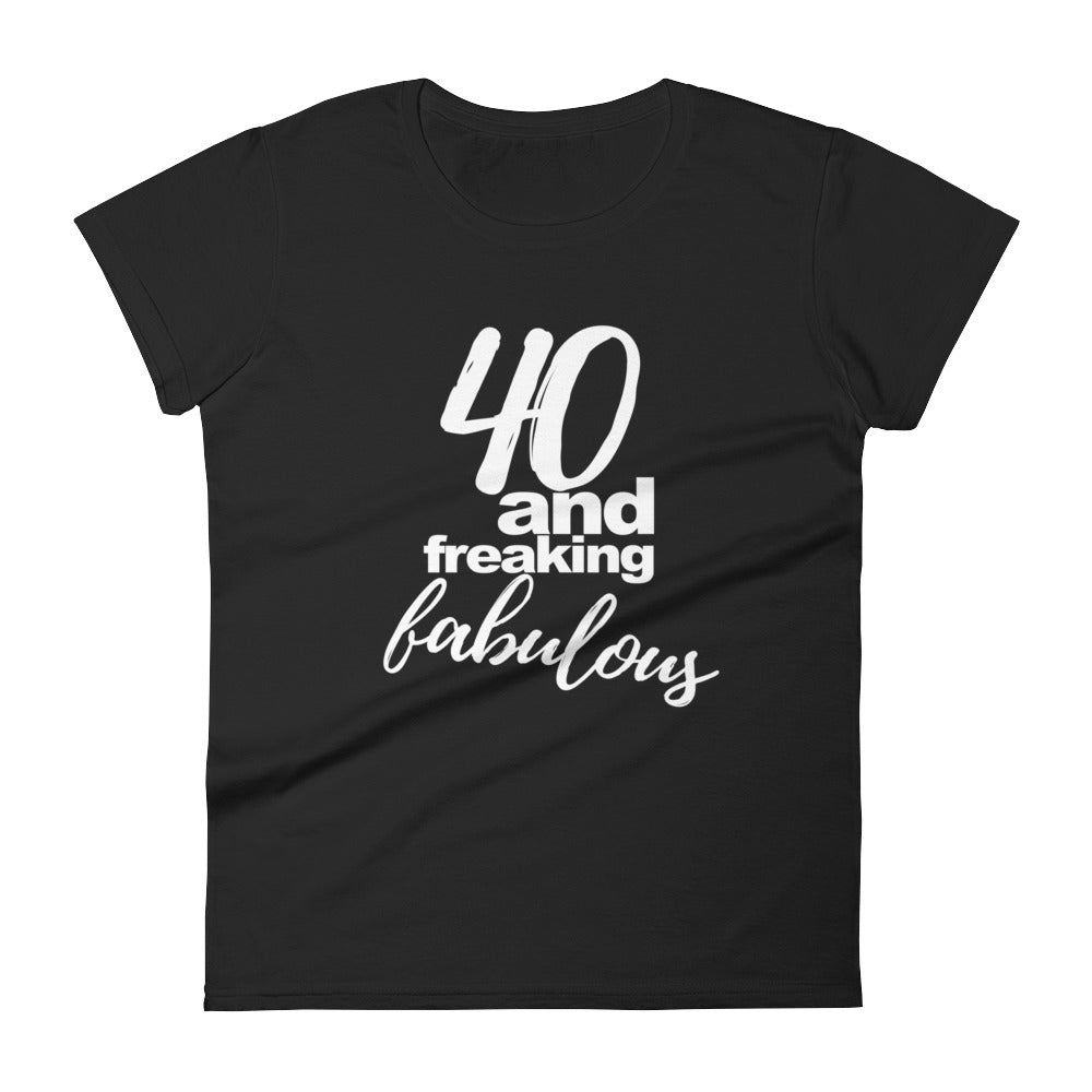 40th birthday t-shirt