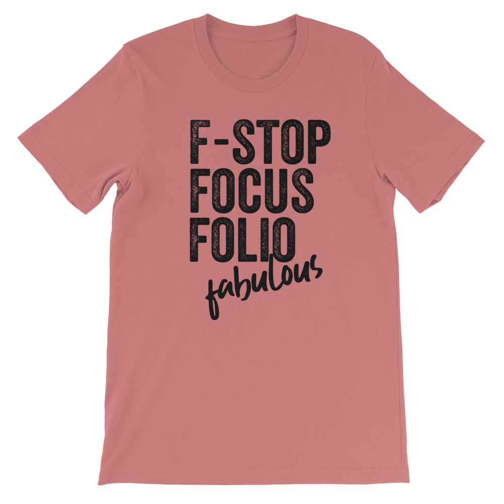 Photography F-words Women Tshirt Mauve