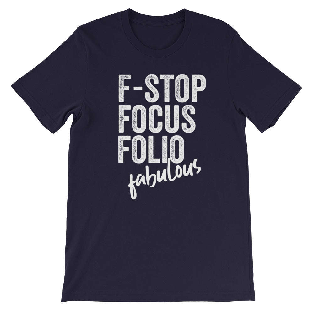 Photography F-words Women Tshirt Navy