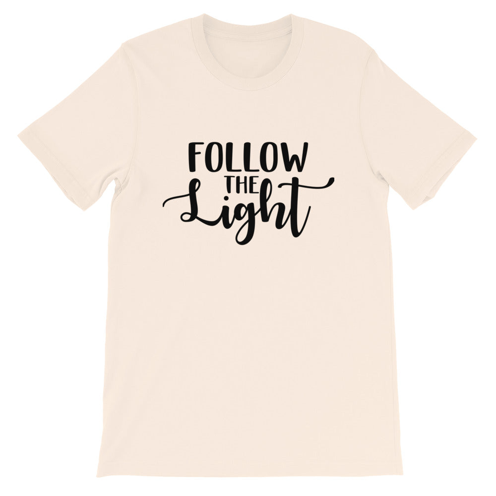 Follow the Light Photography Crew Neck T-shirt
