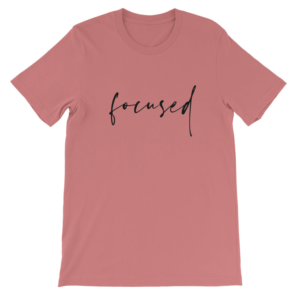 Focused Photography Crew Neck T-shirt