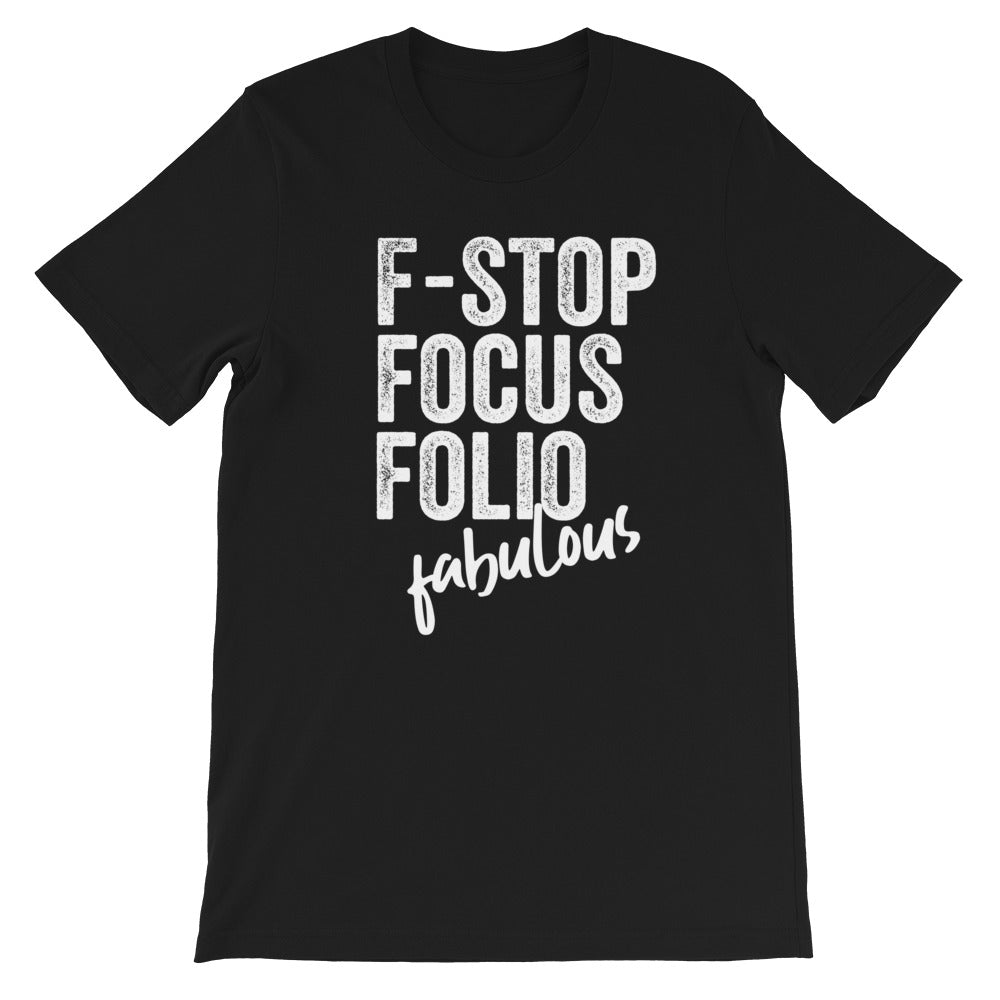 Photography F-words Tshirt Black