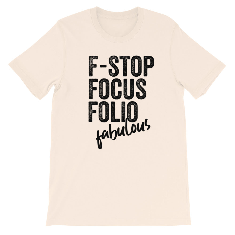 F-Words Photographer Crew Neck TShirt