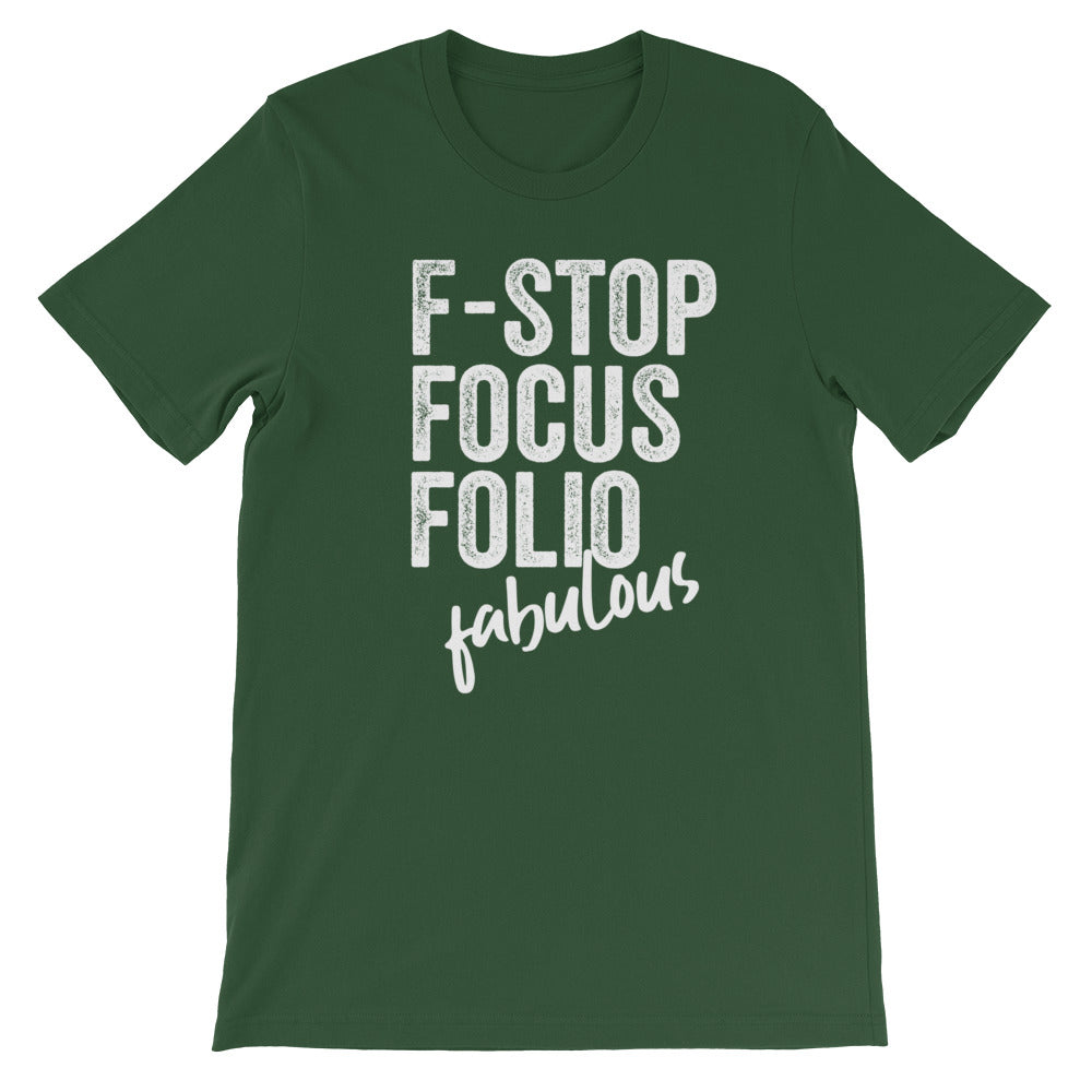 Photography F-words Women Tshirt Forest Green