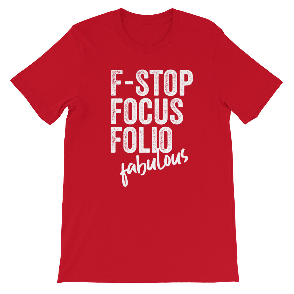 Photography F-words Women Tshirt Red