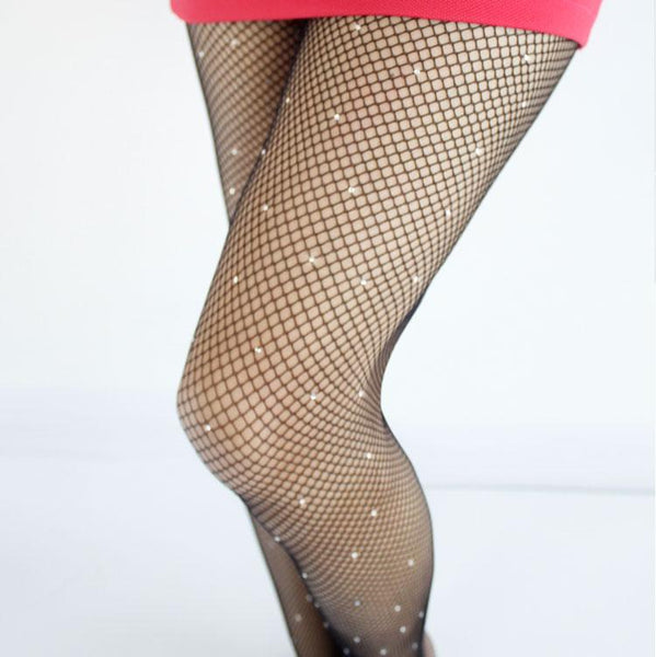 Sexy Women Pantyhose Shiny fishnetstocking High Quality