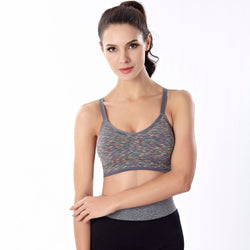New Disign Women Fitness Yoga Sports Bra For Running Gym Padded Underwear Push Up Bras #20