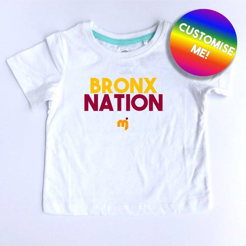 Bronx Nation - Personalised boy's tee