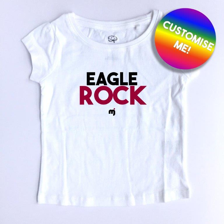 Eagle Rock - Personalised girl's tee