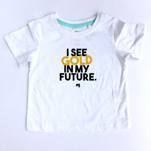 I see gold in my future - Boy's tee