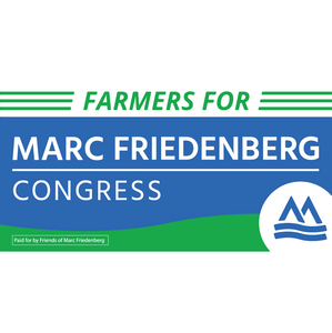Farmers for Marc Bumper Sticker