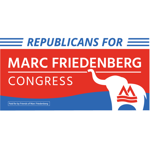 Republicans for Marc Bumper Sticker