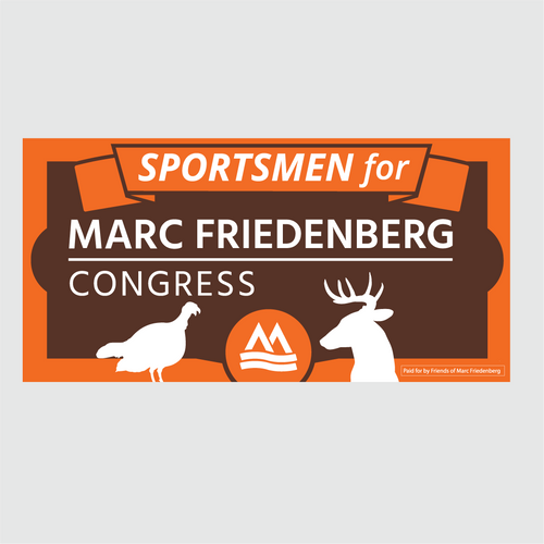 Sportsmen for Marc Bumper Sticker