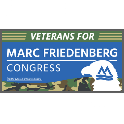 Veterans for Marc Bumper Sticker
