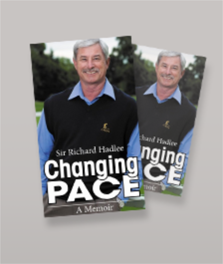 Sir Richard Hadlee - Changing Pace - A Memoir Book