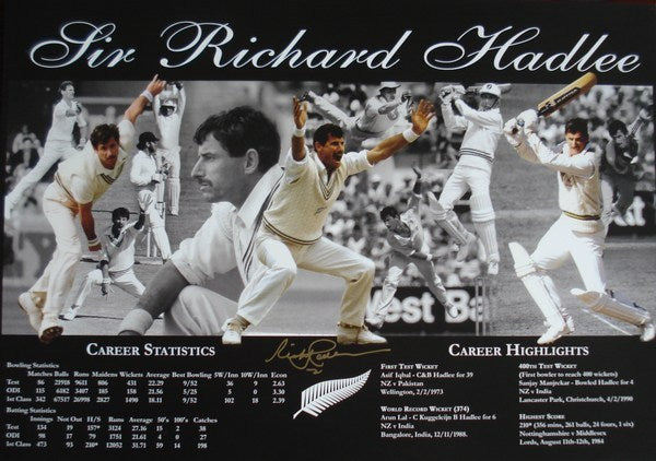 A montage of Sir Richard's career