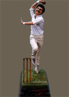 Statue/Figurine of Sir Richard Hadlee Bowling