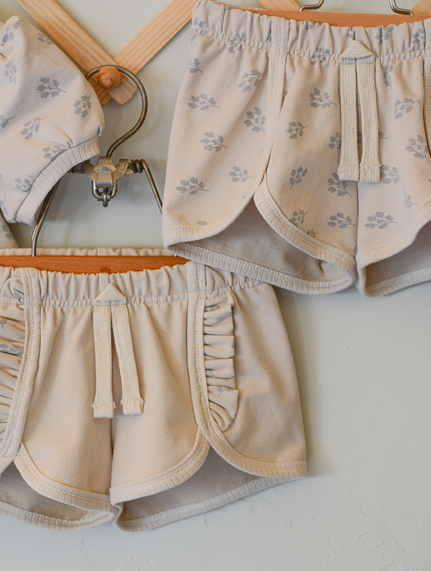 3t Frilly Shirt and Shorts Set