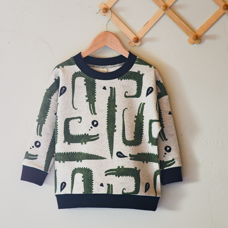 Organic See You Later Alligator Lennon Pullover