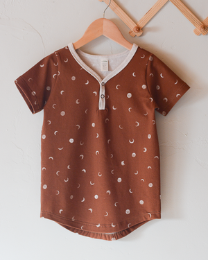 Coffee Moons and Chocolate Kisses Jordyn Tee Capsule Set
