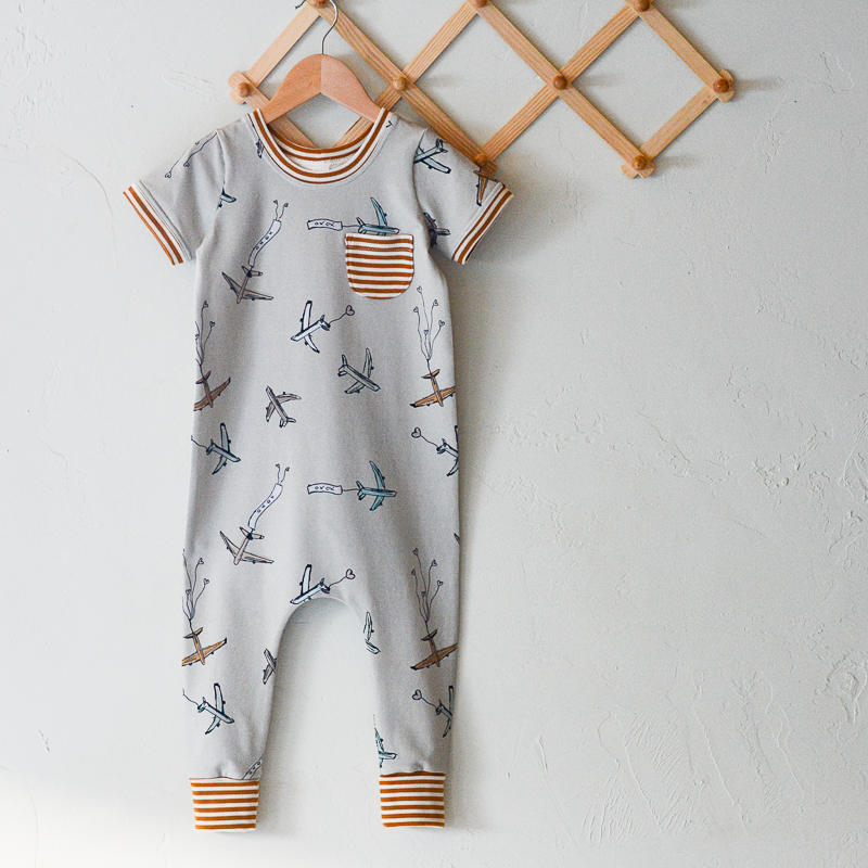 Airplanes Romper