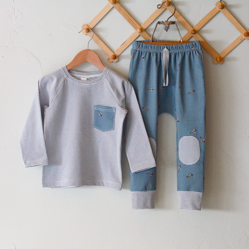 Love Notes Oakley Pants and Raglan Set
