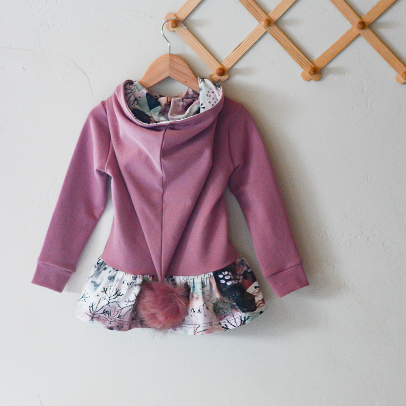 Watercolor Trees Pixie Hoodie