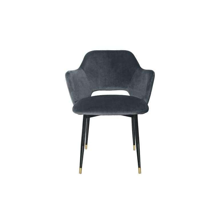 Fauteuil Velours Andrew - Fauteuil