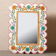 Mexican Painted Mirrors