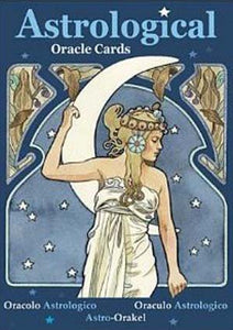 Astrological Oracle cards by Lunaea Weatherstone