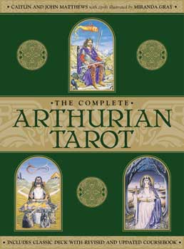 Complete Arthurian tarot deck & book by Mathews & Mathews