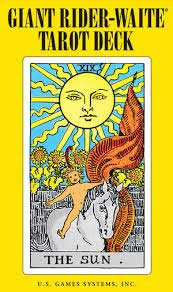 Giant Rider-Waite Tarot by Pamela Colman Smith