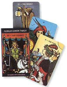 Morgan-Greer tarot deck by Greer & Morgan