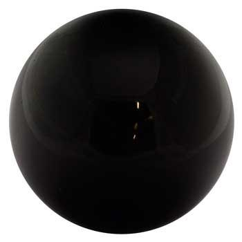25mm - 50mm Black Obsidian crystal ball