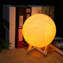 3D Print Earth Lamp