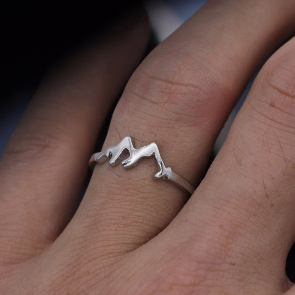 High and Low Mountain Ring