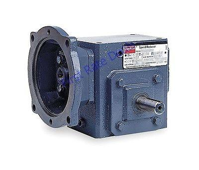 Dayton 4RP44 Speed Reducer 56c 40:1 Ratio C Face 1750 RPM 44 1 HP 1HP