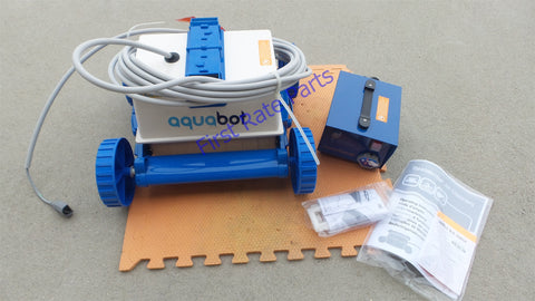 Aquabot Pool Rover Hybrid Swimming Pool Cleaner APRV Automatic Filter