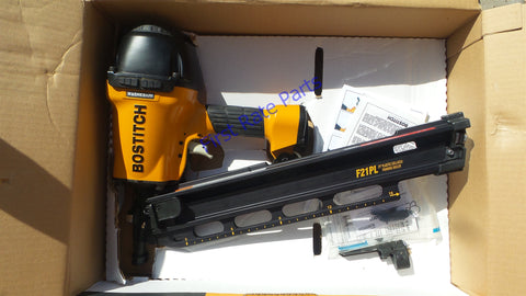 "Bostitch F21PL Framing Nailer 1-1/2"" to 3-1/2"" Round Head Air Gun NEW"