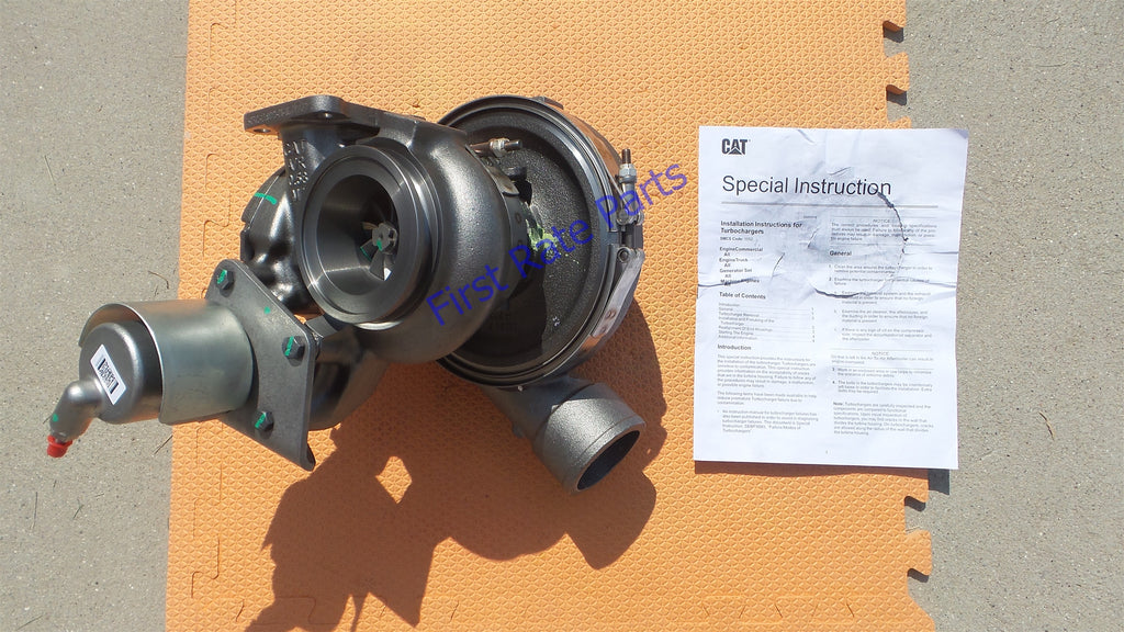 Caterpillar 20R-3861 Turbocharger 424-3429 Turbo CAT Grader 12M 2 140M