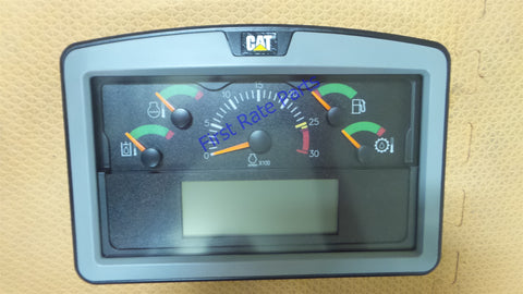 Caterpillar 420-4284 Instrument Panel CAT Gauge Display Cluster Wheel