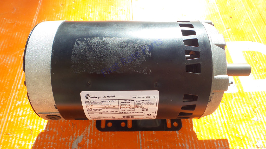 Century H757 Motor AO Smith 3 HP 7-182535-01 2Z267 2NKY6 56HZ 3450 RPM
