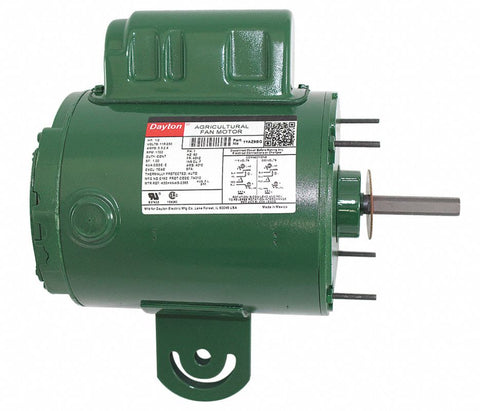 DAYTON 1YAZ9 Aeration Fan Motor 1YAZ9BG 1/2hp 1700 RPM Farm Poultry