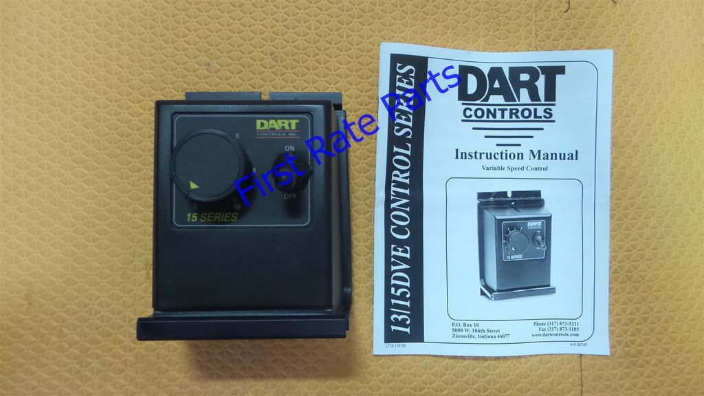 Dart Controls 15DVE Variable Speed Control Motor Adjustable Controller