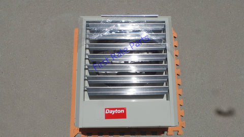 Dayton 2YU67 Electric Unit Heater Wall Ceiling 7.5 kW 480V 3PH Shop