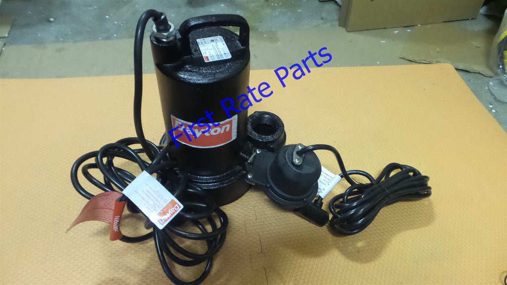 Dayton 3BB80 Pump Sump 3/4 HP Submersible Effluent 1.5 inch 120V Cast