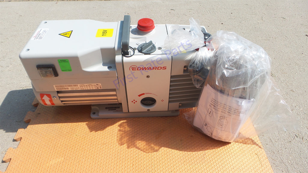 Edwards RV5 Rotary Vane Pump A65301906 Vacuum RV-5 Two Stage Lab SEM