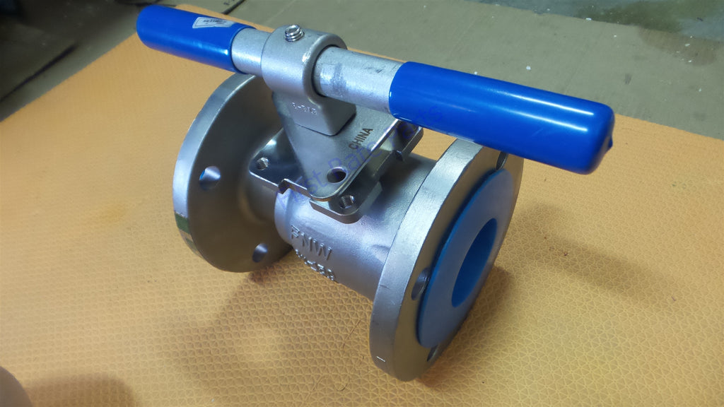 "FNW FNW500BM Ball Valve Stainless Steel 3"" 500B Flanged 3in 3 CF8M 150"