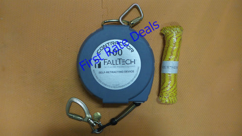 FallTech 7276100 Contractor Self-Retracting Device Lifeline SRD SRL